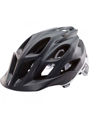 FOX Flux Creo Black Helmet