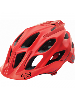 FOX Flux Solids Red Helmet