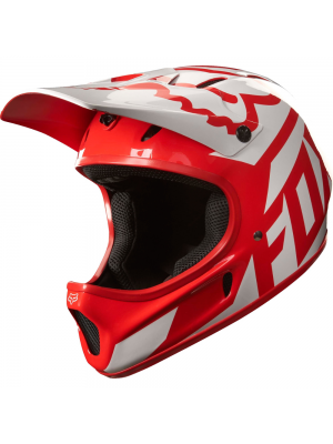 FOX Rampage Race Red Helmet