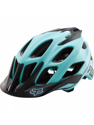 FOX Womens Flux Blue Helmet