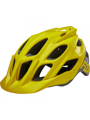 FOX Flux Creo Yellow Helmet