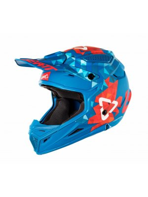 Каска Leatt GPX 4.5 V22 Red/Blue