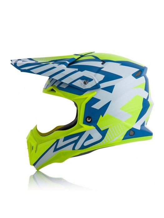 Acerbis Impact 3.0 Blue/Yellow Matte