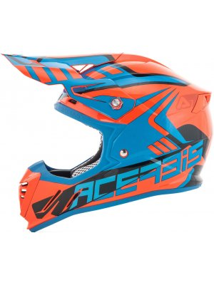 Acerbis Profile 3.0 Skinviper Orange/Blue