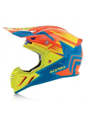 Acerbis Profile 3.0 Snapdragon Orange/Yellow