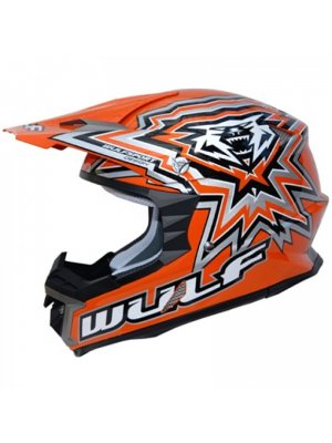 Каска Wulfsport libre X Orange