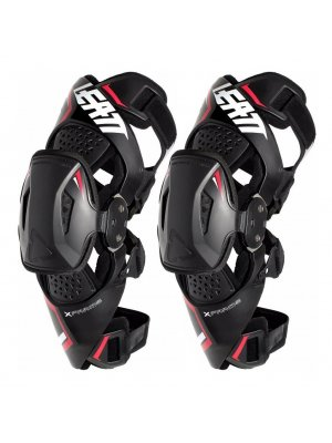 Наколенки Leatt X-Frame Pro Carbon Knee Braces Black/Red