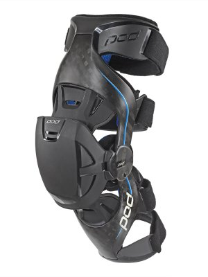 Наколенки Pod K8 Knee Braces Carbon Blue (Комплект)