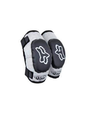 Налакътници FOX PEEWEE TITAN ELBOW GUARD Black/Silver