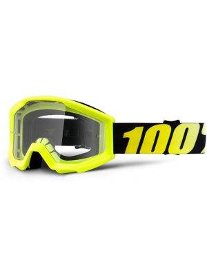 Детски очила 100 % Strata JR Neon Yellow