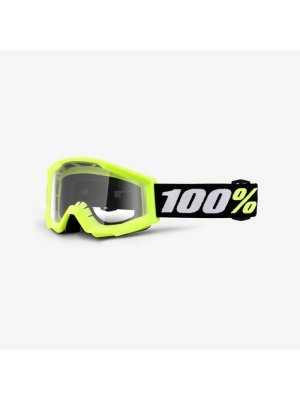 Детски очила 100% Strata Mini Yellow