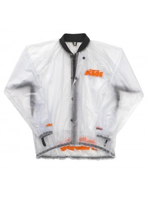 Дъждобран KTM TRANSPARENT RAIN JACKET