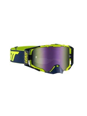 Очила LEATT GOGGLE VELOCITY 6.5 IRIZ INK/LIME PURPLE 30%