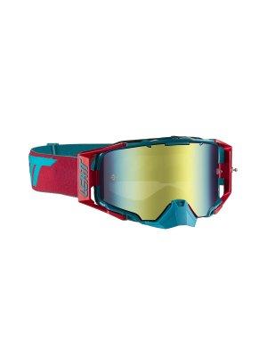 Очила LEATT GOGGLE VELOCITY 6.5 IRIZ RED/TEAL BRONZ 22%
