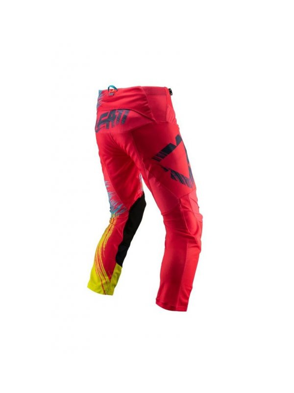 Панталон Leatt GPX 4.5 Pants Red/Lime 2019