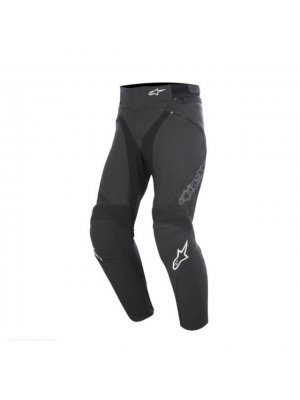 Панталон Alpinestars JAGG LEATHER BLACK/WHITE PANTS
