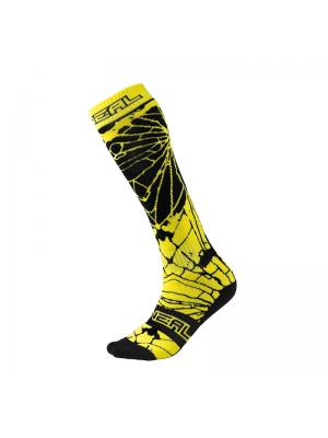 Чорапи O'NEAL PRO MX ENIGMA BLACK/ HI-VIZ