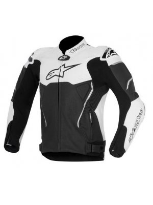 Яке ALPINESTARS ATEM LEATHER WHITE JACKET