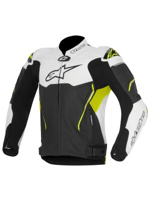 Яке ALPINESTARS ATEM LEATHER YELLOW JACKET
