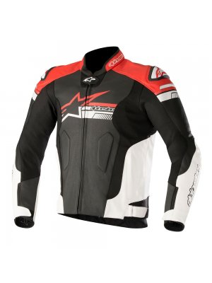 Кожено Яке ALPINESTARS FUJI AIRFLOW LEATHER RED JACKET