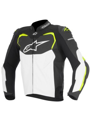 Яке ALPINESTARS GP PRO LEATHER YELLOW JACKET