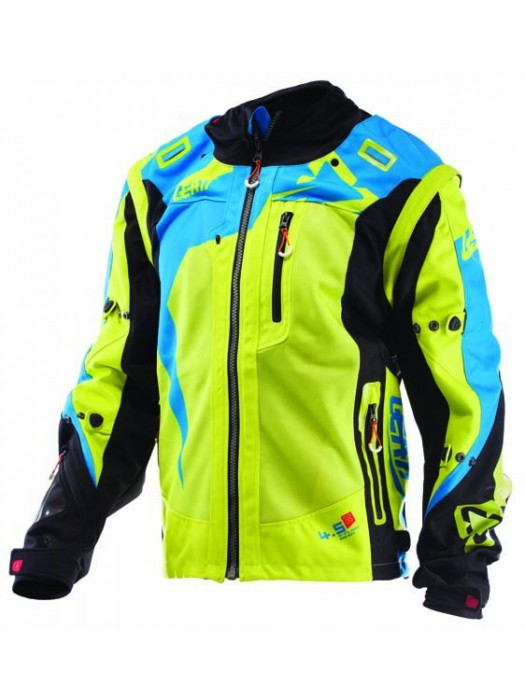 Яке Leatt GPX 4.5 X-FLOW Jacket Lime