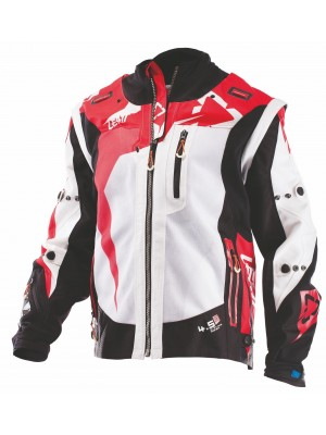 Яке Leatt GPX 4.5 X-FLOW Jacket White