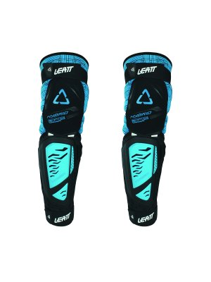 Наколенки Leatt Knee & Shin Guard 3DF Hybrid EXT Black/Blue