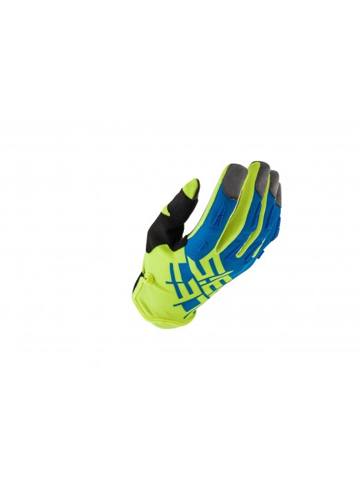Ръкавици Acerbis MX2 Yellow/Blue Gloves