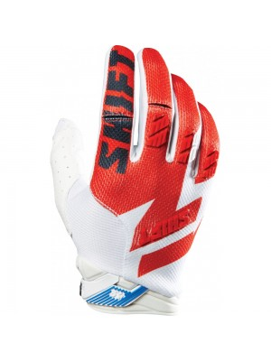 Ръкавици Shift Faction Gloves White Red