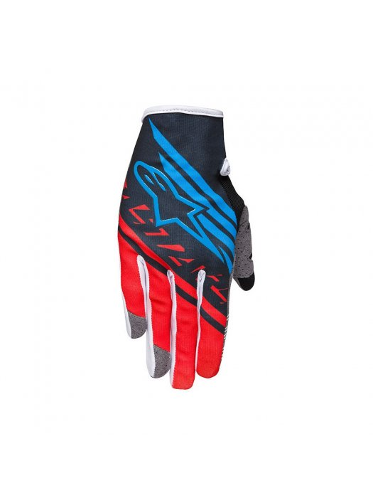 Ръкавици Alpinestars RACER SUPERMATIC Black/Red Gloves