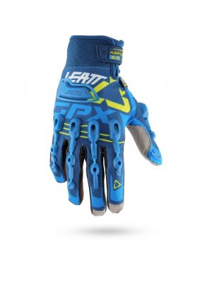 Ръкавици Leatt Glove GPX 5.5 Windblock Blue/Yellow/White