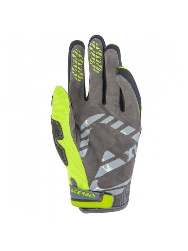 Детски ръкавици Acerbis Junior MX Kid Yellow/Black Gloves