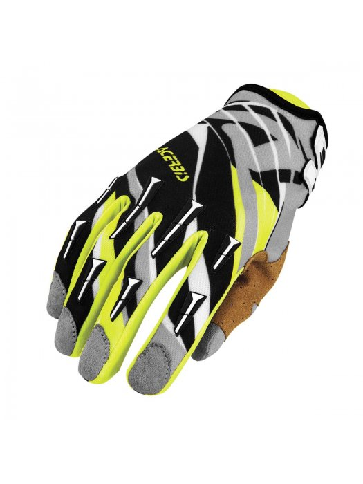 Ръкавици Acerbis MX2 Black/Yellow Gloves