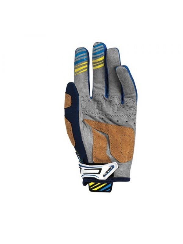 Ръкавици Acerbis MX2 Blue/Yellow Gloves