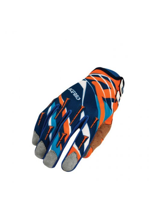 Ръкавици Acerbis MX2 Orange/Blue Gloves