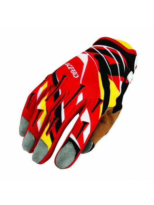 Ръкавици Acerbis MX2 Red/Yellow Gloves