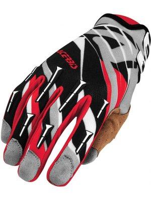Ръкавици Acerbis MX2 Black/Red Gloves