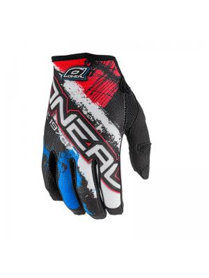Ръкавици O'NEAL JUMP SHOCKER BLACK/BLUE/RED