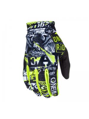 Ръкавици O'NEAL MATRIX ATTACK BLACK/HI-VIZ