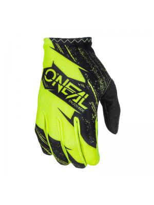 Ръкавици O'NEAL MATRIX BURNOUT BLACK/HI-VIZ