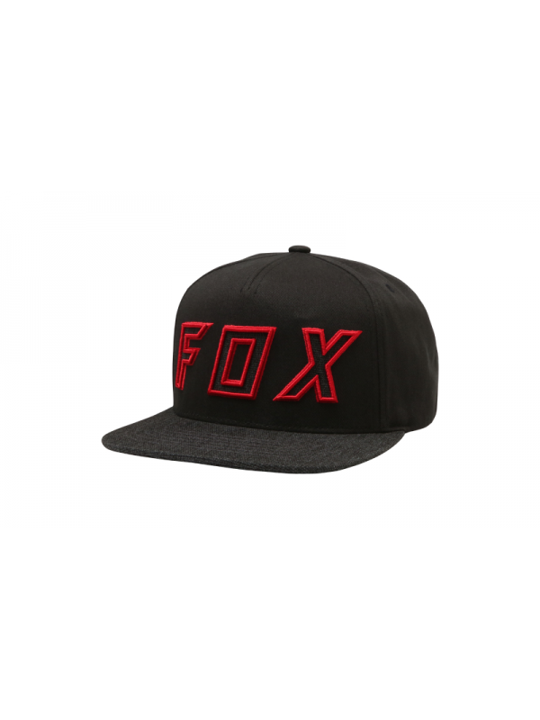 on sale 87bc5 9410a Шапка FOX POSESSED SNAPBACK HAT BLK