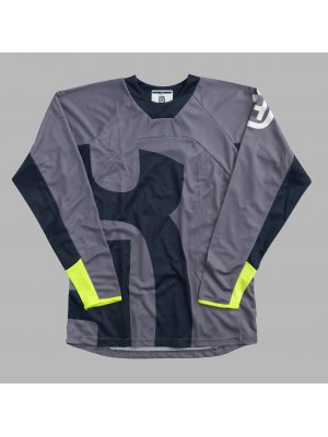 Блуза HUSQVARNA RAILED SHIRT GREY