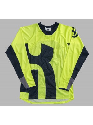 Блуза HUSQVARNA RAILED SHIRT YELLOW