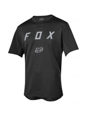 FOX FLEXAIR SS MOTH JERSEY BLACK