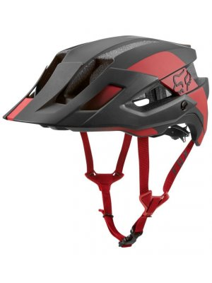 FOX FLUX MIPS CONDUIT CARDINAL HELMET