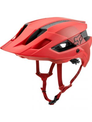 FOX FLUX MIPS CONDUIT RIO RED HELMET
