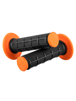 МОТОКРОС РЪКОХВАТКИ O'NEAL MX GRIP DIAMOND DUAL BLACK/ORANGE 802