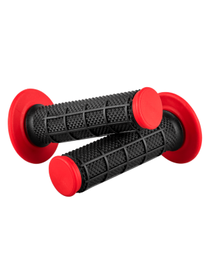 МОТОКРОС РЪКОХВАТКИ O'NEAL MX GRIP DIAMOND DUAL BLACK/RED 803