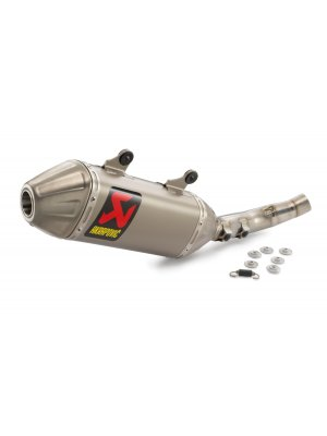 Akrapovic Slip-On Exhaust KTM/HQV 250/450 19-20